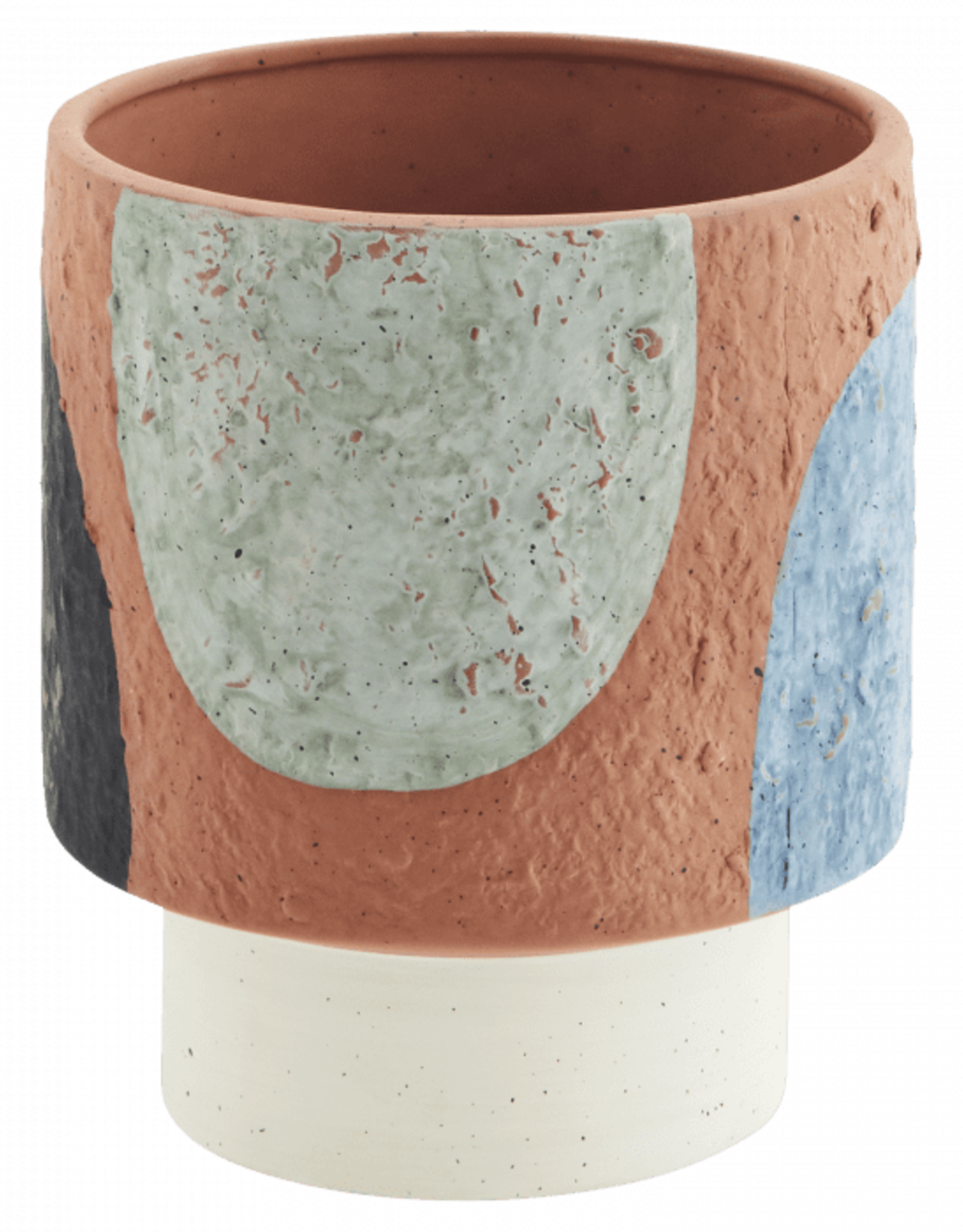 Madam Stoltz Terracotta flower pot Ø14 h18 - Colours