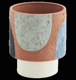 Madam Stoltz Terracotta bloempot Ø14 h18 cm - Kleuren