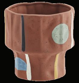 Madam Stoltz Terracotta bloempot Ø10 h11 cm - Kleuren