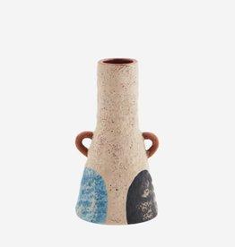 Madam Stoltz Terracotta vase w/ handles Ø3 h15 cm