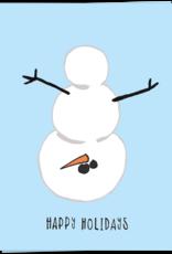 Kaart Blanche Naughty snowman