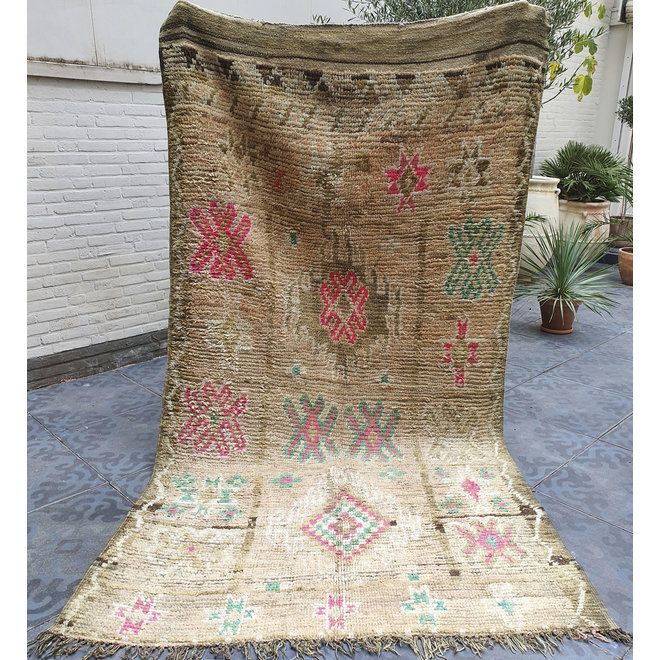 Moroccan Boujad rug 'Olive' 290 x 153 cm