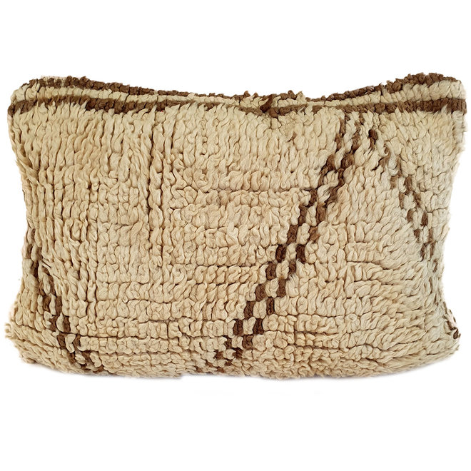 Wool Berber Cushion from Morocco