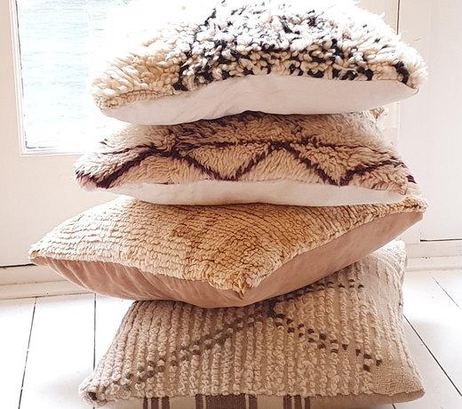 Beni Ourain Pillows Square