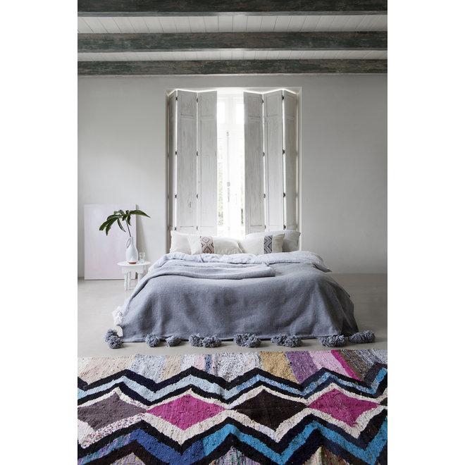 Marokkaans Kelim Boucherouite Kleed