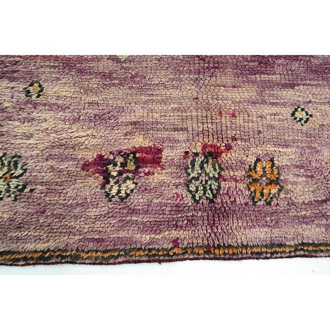Moroccan Boujad Rug Purple 283 x 182 cm