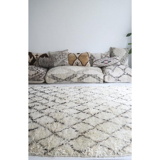 Beni Ouarain Kleed uit Marokko 275 x 175 cm