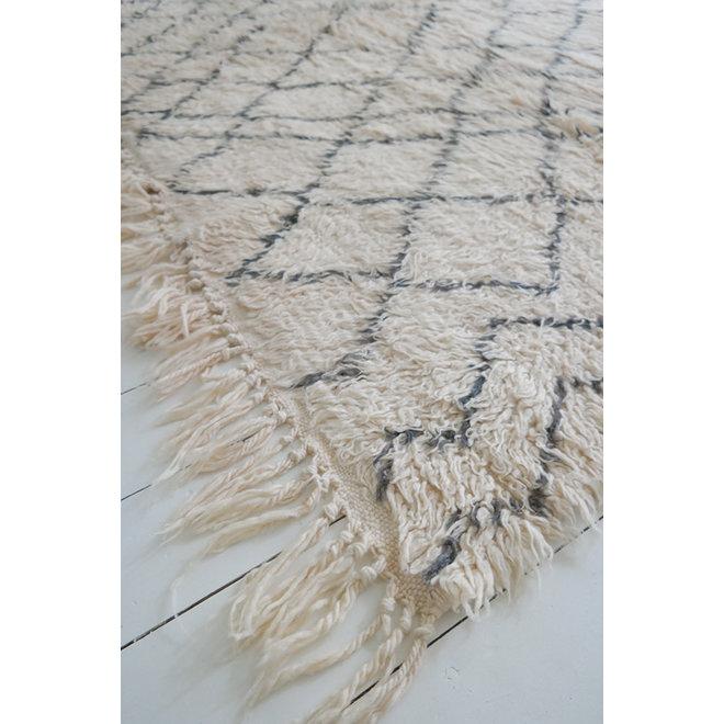 Beni Ouarain Kleed 'Romy' 280 x 208 cm