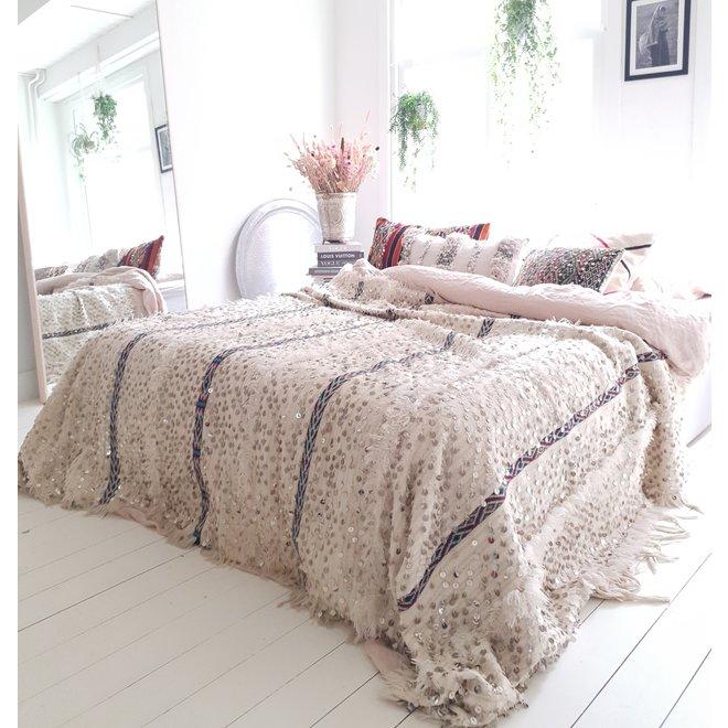 Wedding blanket from Morocco 280 x 175 cm