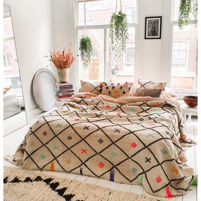 Kilim rug/ blanket 275 x 195 cm