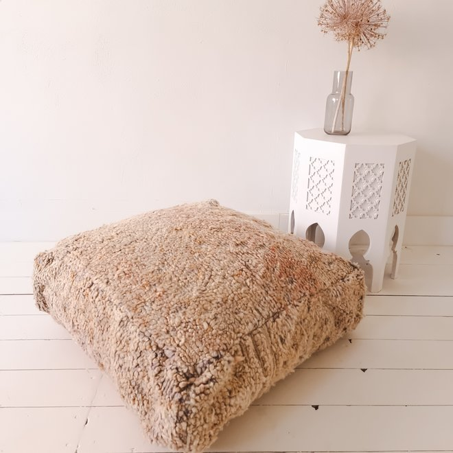 Moroccan Floor Pillow Pastel