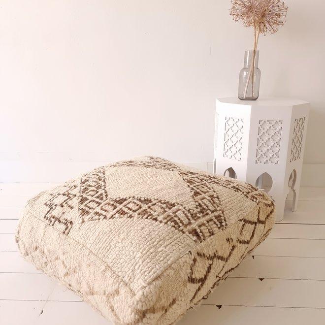 Moroccan Floor Cushion Natural