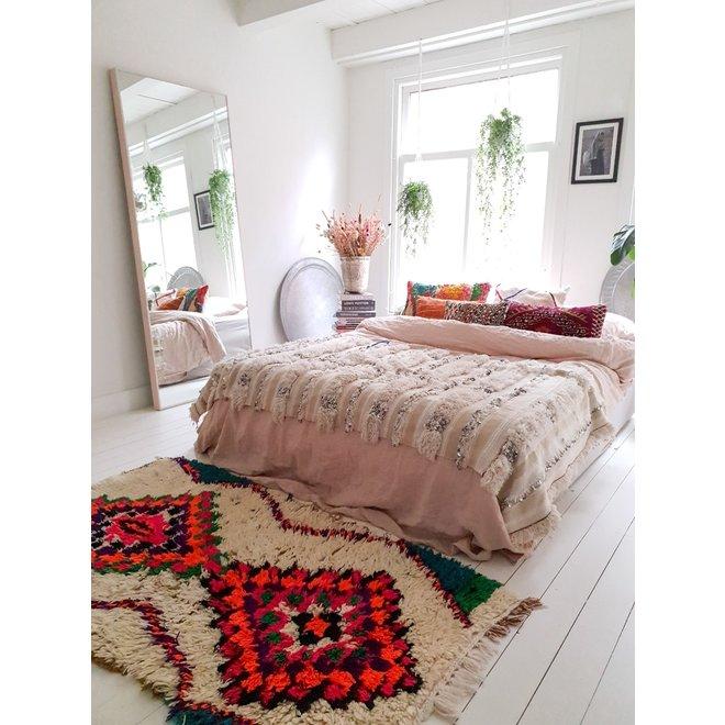 Handgemaakt Marokkaans loper tapijt 179 x 94 cm