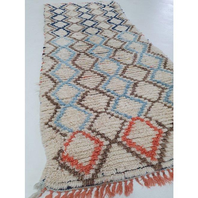 Loper kleedje uit Marokko 90 x 210 cm