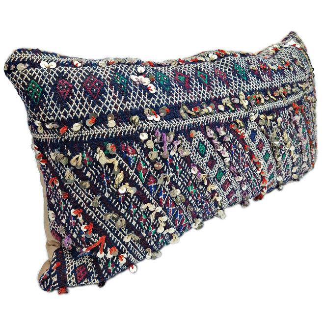 Kilim Cushion purple