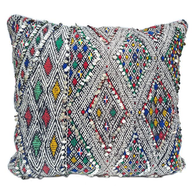Kilim Pillow Bohemian 60 x 60 cm