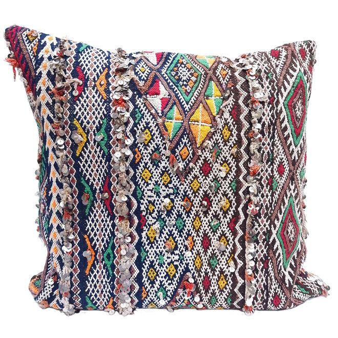 Kilim Cushion from Morocco 60 x 60 cm
