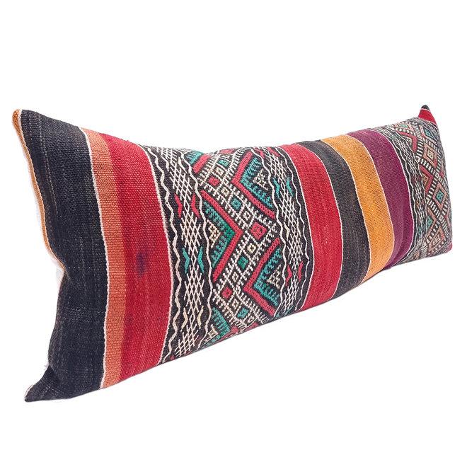 Vintage Kilim Pillow 95 x 40 cm