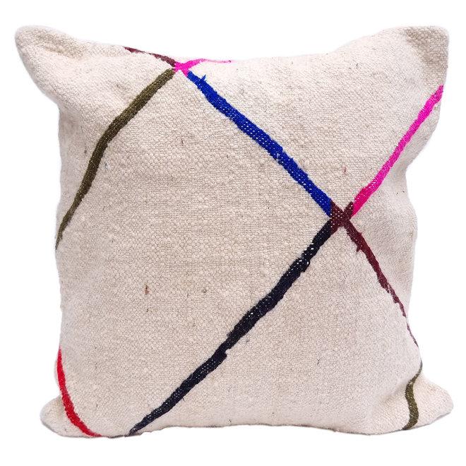 Kilim Pillow 'Bright Diamond'