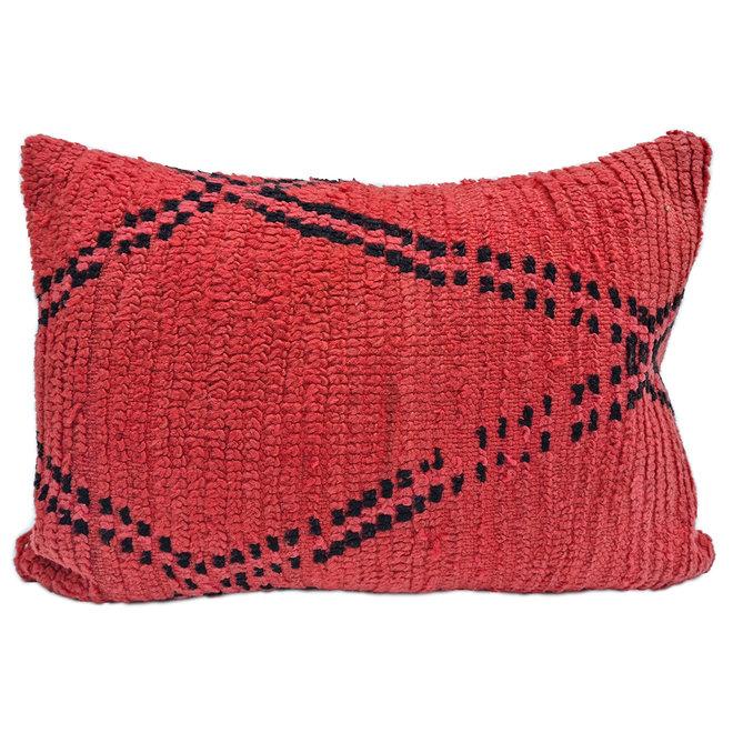 Marokkaans Berber Kussen rood