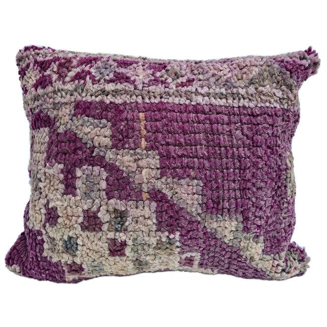 Moroccan Berber Pillow purple