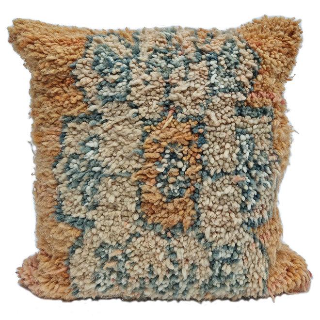Berber Kussen 50 x 50 cm oranje
