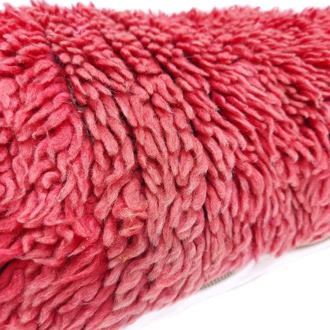 Lumbar pillow red 118 x 40 cm