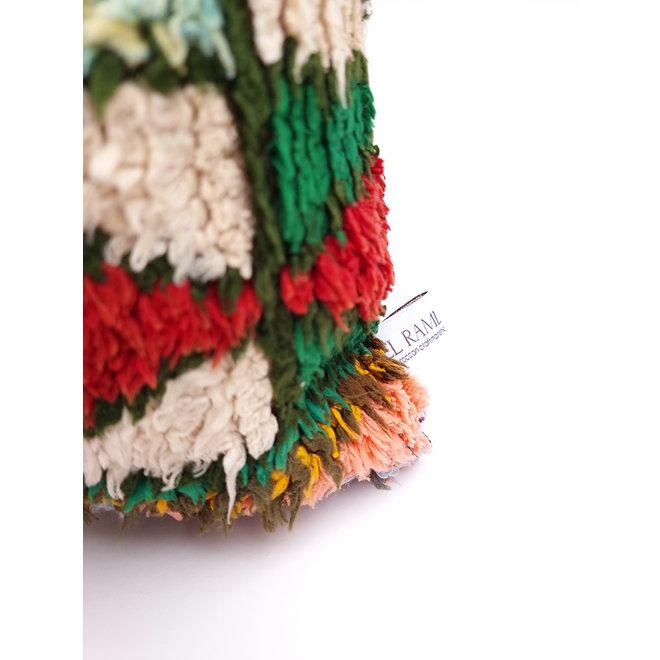 Kussen Berber multicolor