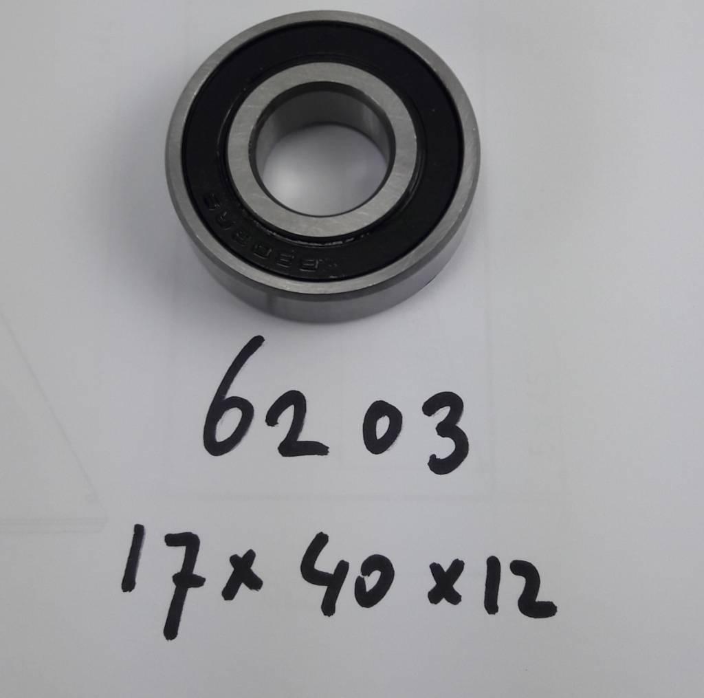 BE-6203-2RS, 17x40x12 2 kanten afgedicht