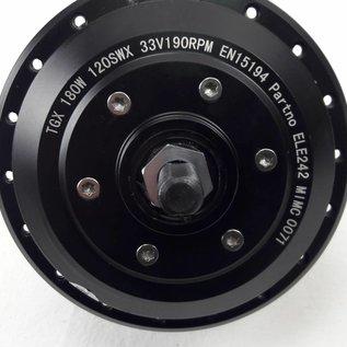 Naaf met electromotor TX 33 Volt rechts 10cm kabel 1x 3 polige stekker