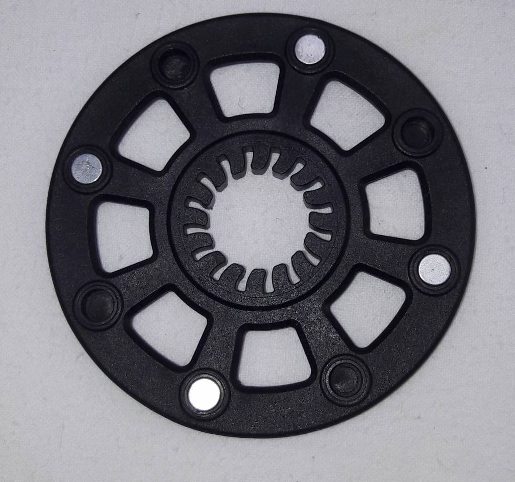 Ele018 Magneetschijf Trapas met 4 magneten