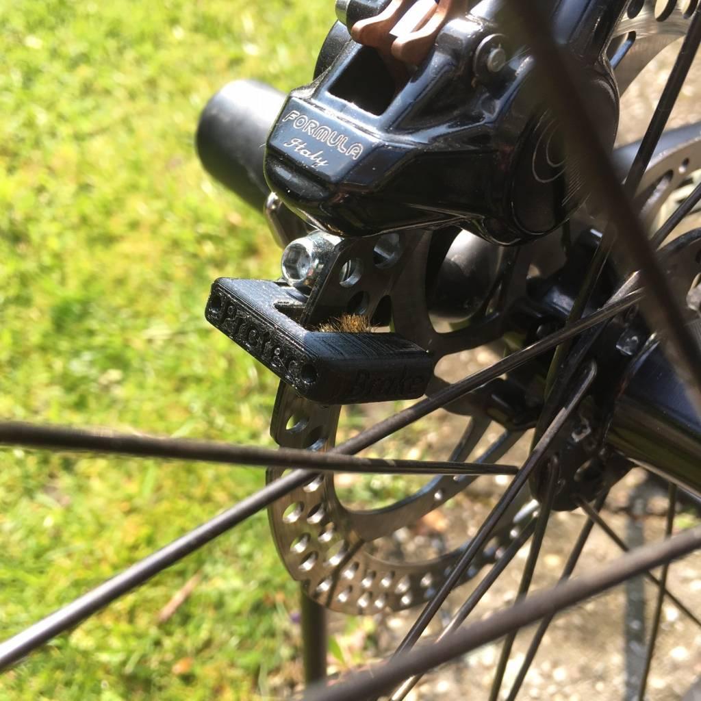 BP100zwart; Brake Protec zwart rembeschermers