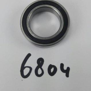 TBZ bearings 6804 2RS, 2 kanten afgedicht, 20x32x7