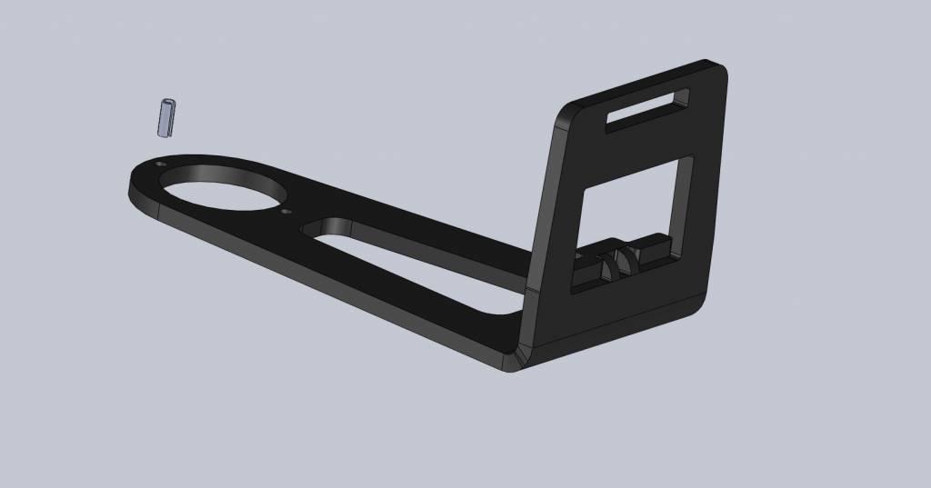 AHS 1 1/8 Beugel voor Fastlock Click systeem