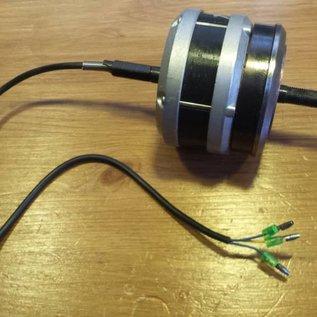 Electromotor TX 24 Volt links 50 cm kabel 3 stekkers