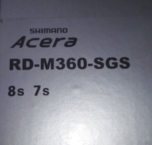 ADE-RD-M360-SGS; Achterderailleur Acera