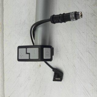 ELE232, Afstandbediening MC HES, QMS en QQS, 4 pins met remschakelaar
