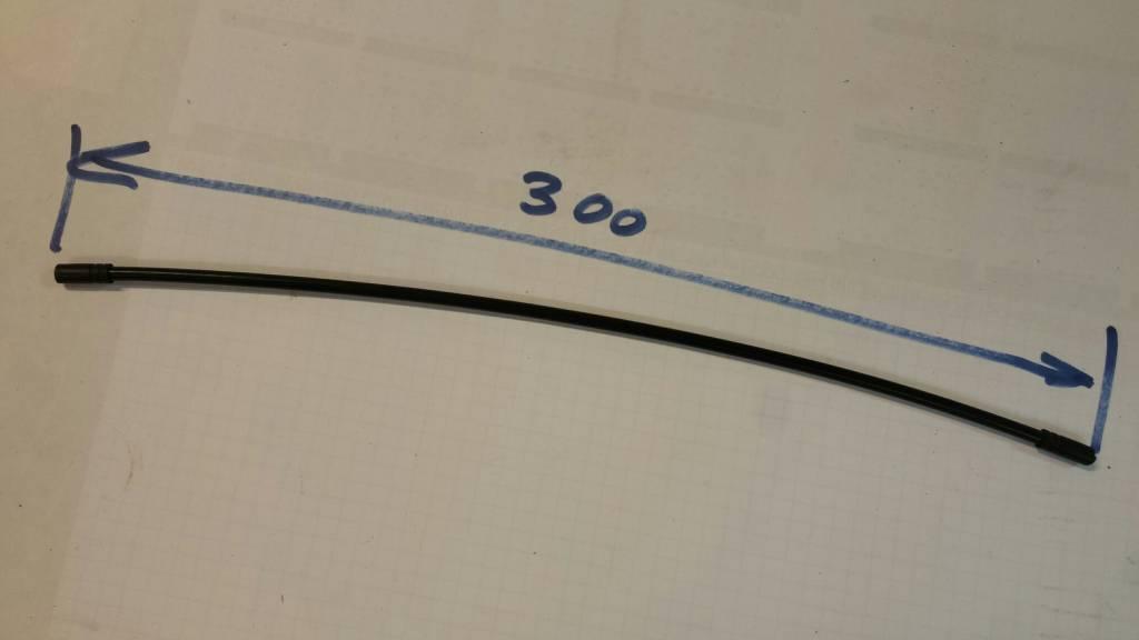 Versnellingskabel 300mm