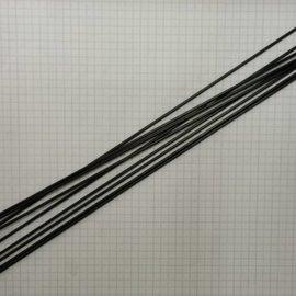 Spaak rvs zwart plain 2x294 (14g)