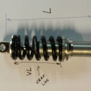 Unit Suspension 112mm Veer55mmx250lbs