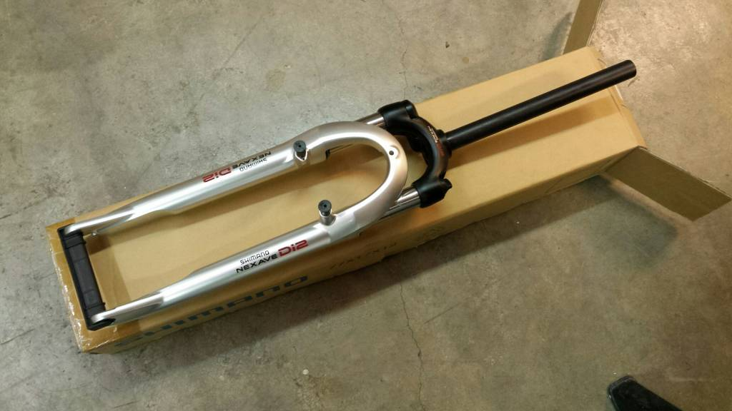 Voorvork Shimano Di2 1 inch AHS