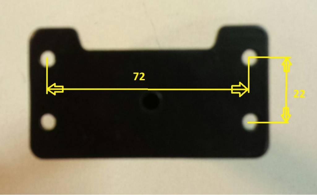 JP1210 Beugel voor bevestiging tas of mand aan 1 of 1 1/8 stuurpen