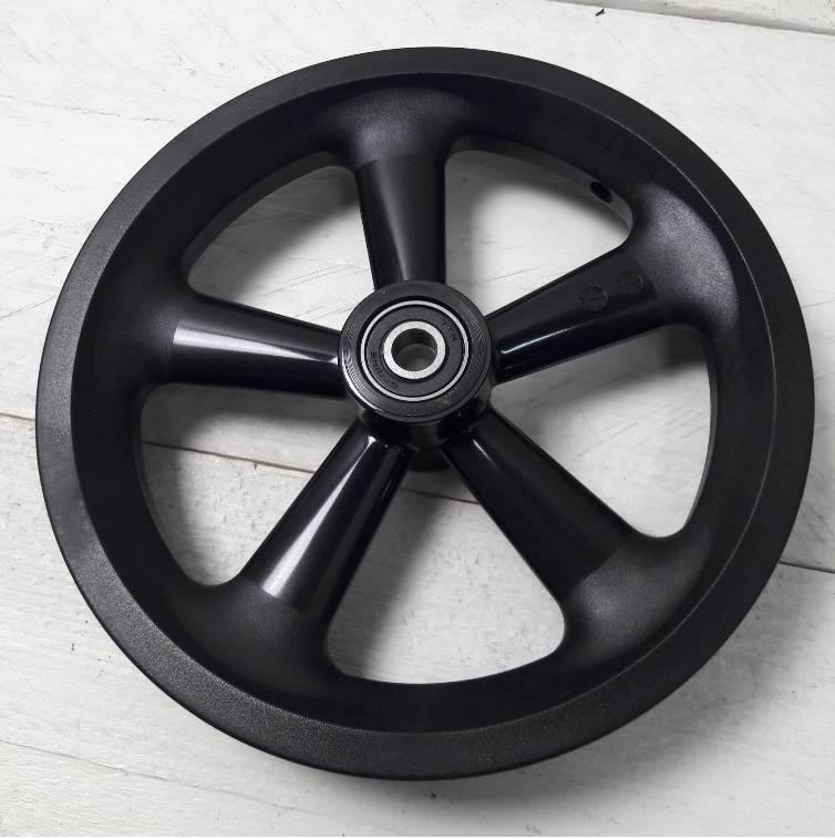 JP0030 Los wiel 12,5 inch Nylon op kogellagers