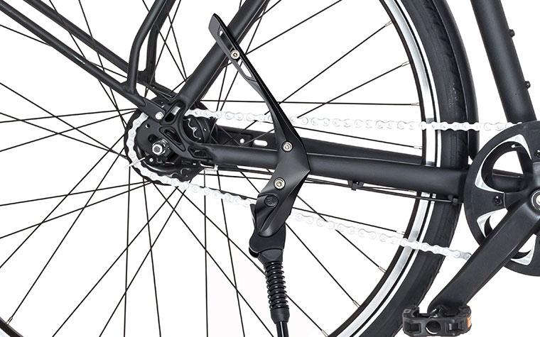 STA673 Rechts; Zijstandaard montage rechter kant van fiets