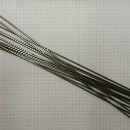 Spaak rvs  plain 2x260 (14g)
