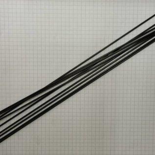 Spaak rvs zwart Strong 2,34/2 x 252 (14g)