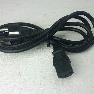 Kabel 220V recht → C13, lengte 180cm