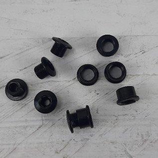 5x Bladboutjes 5.5 tot 7mm zwart