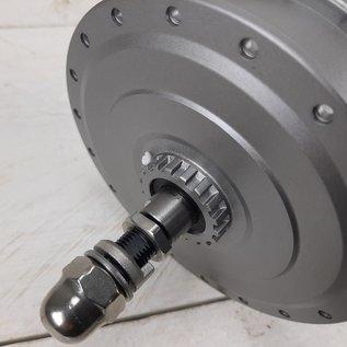 DAPU Voornaaf DAPU motor M135FR RB 3616D, voor rollerbrake 36volt kabel 9 polig, kabel rechts
