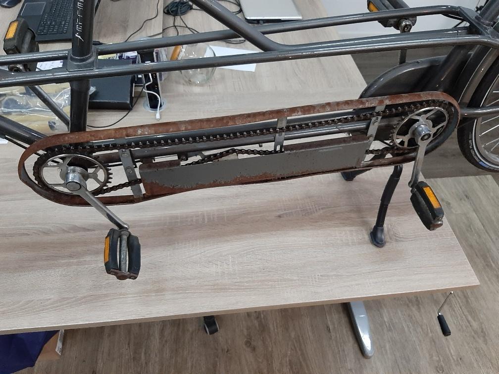 Metalen Kettingkast voor Gazelle tandem